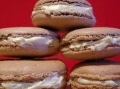 Macarons chocolat blanc cardamome