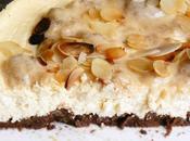 Cheese cake crémeux light banane caramel