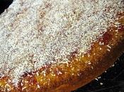 Gâteau semoule orange noix coco