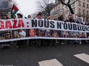 marche pour Gaza République l'Opéra