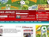 Caresse Antillaise habille FranceAntilles.fr pour carnaval