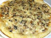 Tarte champignons chaource