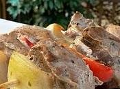 Brochettes porc l'érable