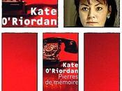 Pierres mémoire Kate O'Riordan