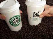(commerce equitable) Starbucks base 100% certifiés Havelaar