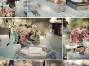 Décoration mariage vintage: rétro