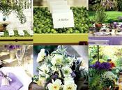 Décoration mariage thème Provence lavende herbes provence l'honneur