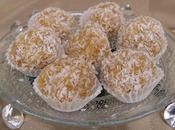 Gâteau Pessah Boules coco caramel l'ananas