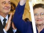 Simone Veil entre l'académie Française