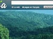 Ecosia, moteur recherche écologique