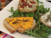 Petites tartines rigolotes fromages