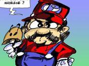 Super Mario Proust cachait madeleine