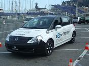 Test drive Nissan Leaf salon Ever Monaco