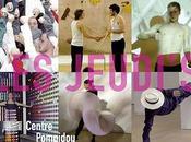 Aquapax partenaire JEUDI'S 2010 Centre Pompidou