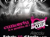 Concert Canta Populu Corsu après-midi Ajaccio.