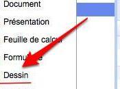 Google Documents: application Dessin collaboration temps réel