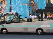 Mosquitos échange pompes: guerilla marketing Paris