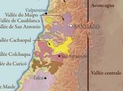 principales zones viticoles Chili…