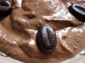 Crème mousse chocolat/café tofu lait d'avoine vanillé