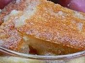 Pouding chômeur pommes l'érable