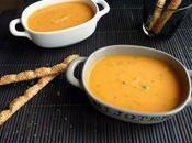 Encore carotte?! Oui, donne joues roses alors, soupe carottes coriandre!
