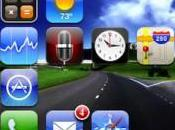 LockDock Accéder applications iPhone depuis lockscreen