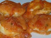Oeufs gratinés tomate