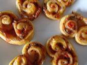 Palmiers Tomate-Mozza (par Aurélie)