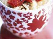 lait fraises sauce balsamique