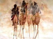 Sahara, peintres Touaregs désert