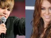 Miley Cyrus Justin Bieber vont enregistrer