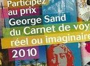 Prix George Sand Carnet Voyage