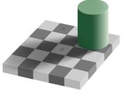 L'illusion optique carrés gris