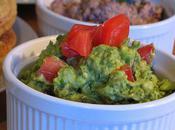 Guacamole pour repas ''finger food'', prise