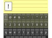 Nouveautés clavier Android Froyo