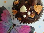 Cupcakes Biscuit Coeur Fondant Nutella