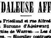 Affaire Adelswärd-Fersen, partie