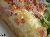 Quiche bacon reblochon