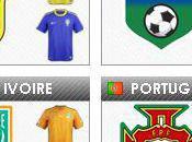 Coupe Monde 2010 Groupe Equipes, Programme, Calendrier Résultats