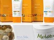 Nouvelles gammes Melvita solaires soins bébé
