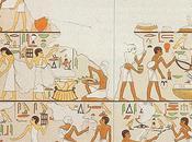 L'ÉGYPTOLOGIE TCHÈQUE XII. L'INSTITUT FOUILLES ABOUSIR DURANT DERNIÈRE DÉCENNIE XXème SIÈCLE TOMBE FETEKTI SCÈNE MARCHÉ