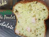 Cake Courgette Poulet Echalotes