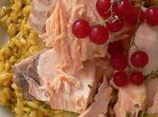 Rizotto saumon curcuma