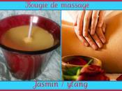 ♥♥-♥♥Bougie massage jasmin /ylang chrono♥♥-♥♥
