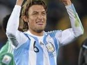 Victoire l'Argentine contre Nigéria grâce Gabriel Heinze