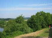 Berg-sur-Moselle, marche sous soleil