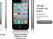 iPhone commande chez Apple