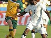 Groupe Ghana l'Australie font match partout