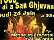 Feux Saint-Jean Ghisonaccia jeudi soir.