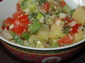 Salade pommes terre thaï